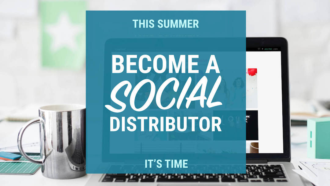 social media for promo distributors