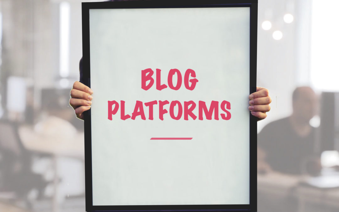 what is the best blogging platform for a promo distributor