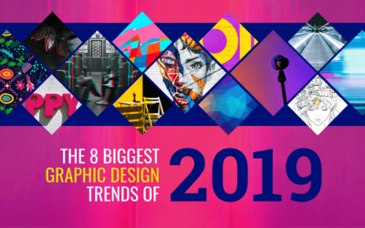 The 8 Biggest Graphic Design Trends For 2019