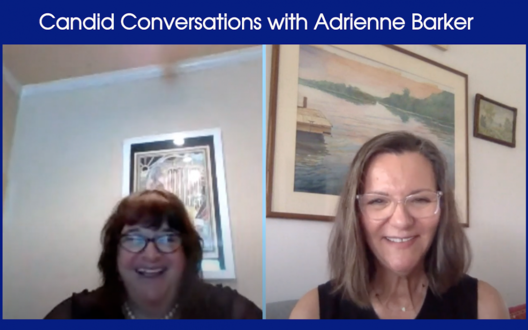 Candid Conversations with Adrienne Barker Interviews Gloria Lafont