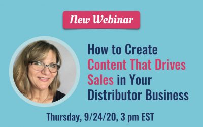 How to Create Content That Drives Sales in Your Distributor Business